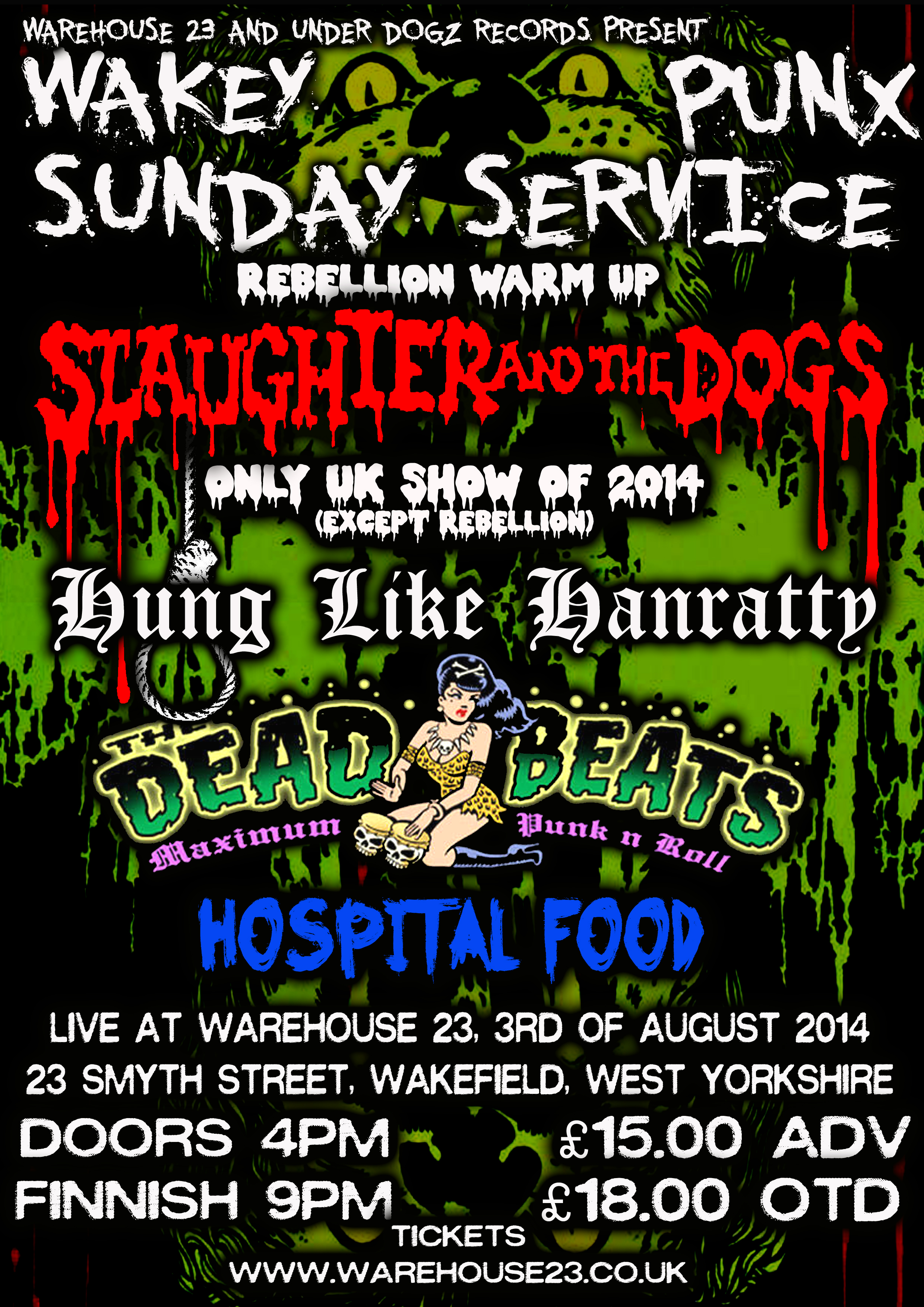 Slaughter The Dogs Runaway
