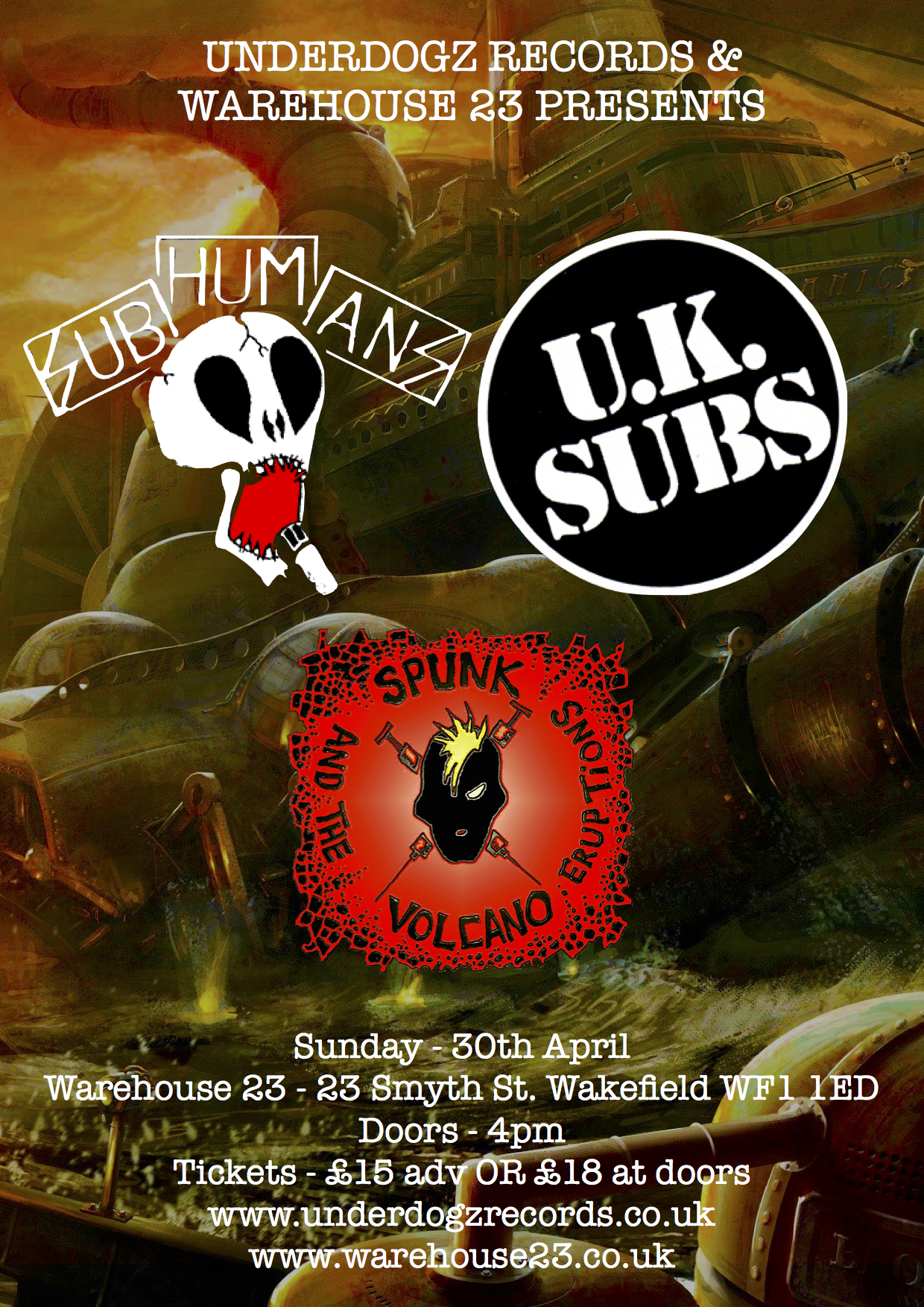 UK Subs & Subhumans
