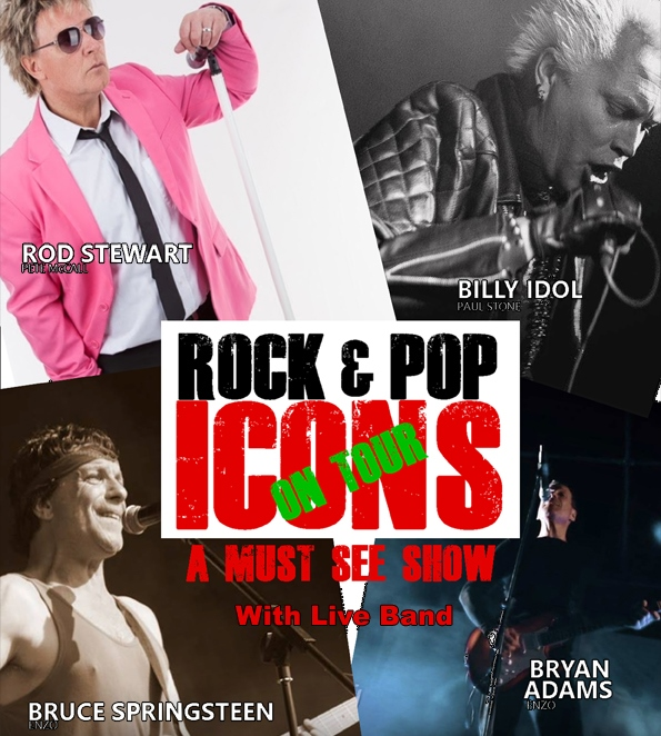 Rock and Pop Icons on Tour